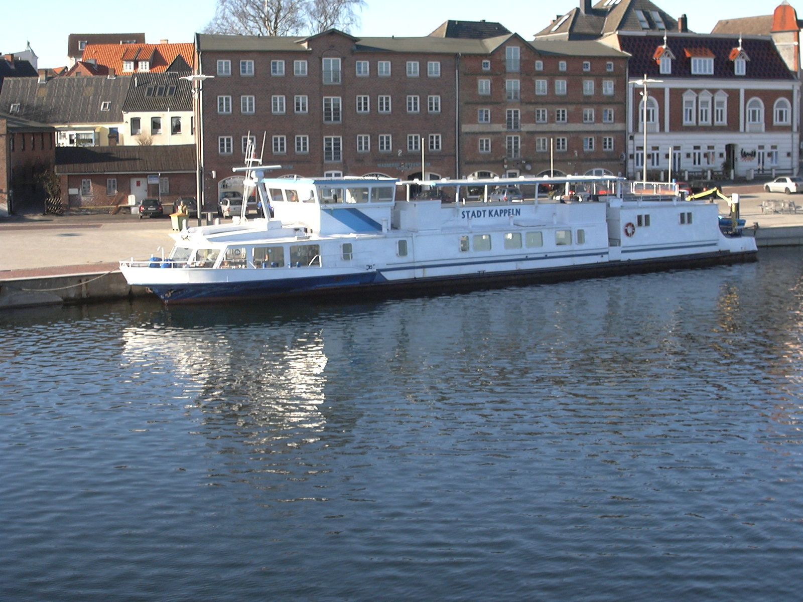 Schiff Stadt Kappeln